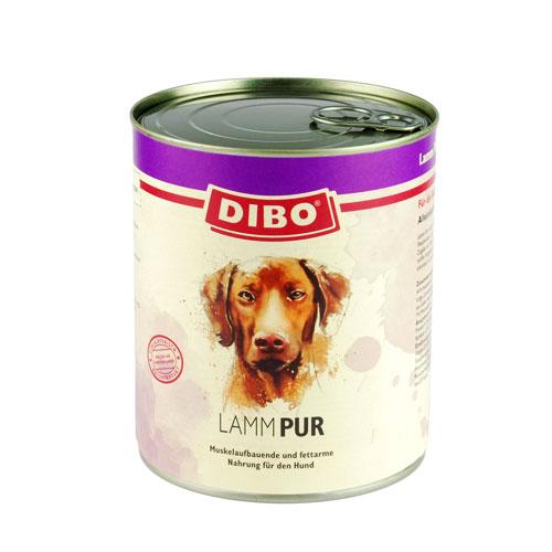 DIBO-Dosen Lamm für Hunde