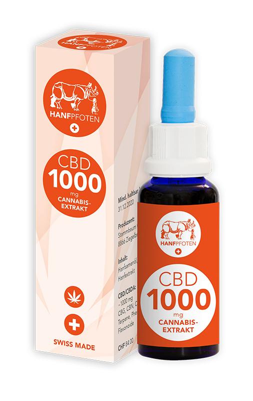 CBD Öle für Hund und Katz